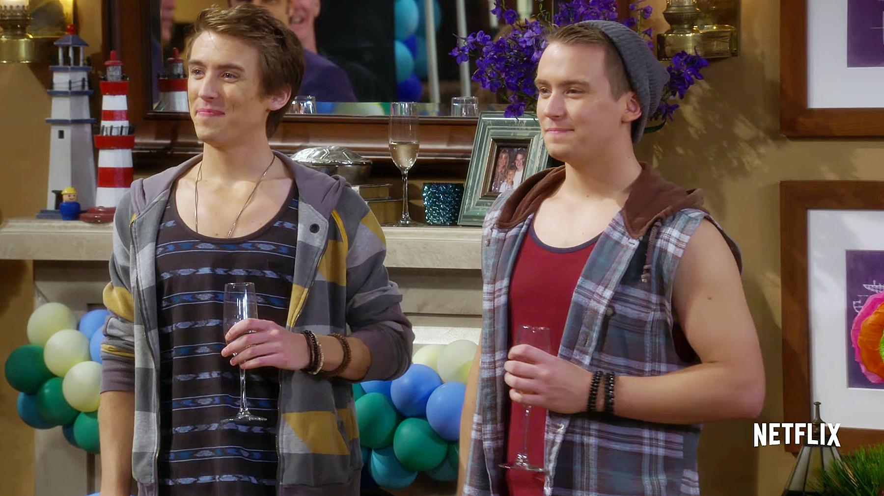 Twins Nicky and Alex