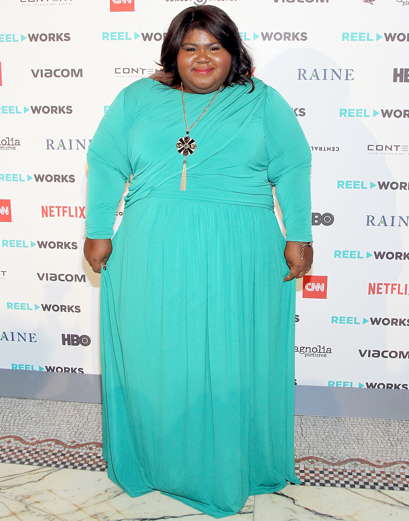 Gabourey Sidibe attends the Reel Works Gala Benefit 2015 At Capitale on November 11, 2015 in New York City.