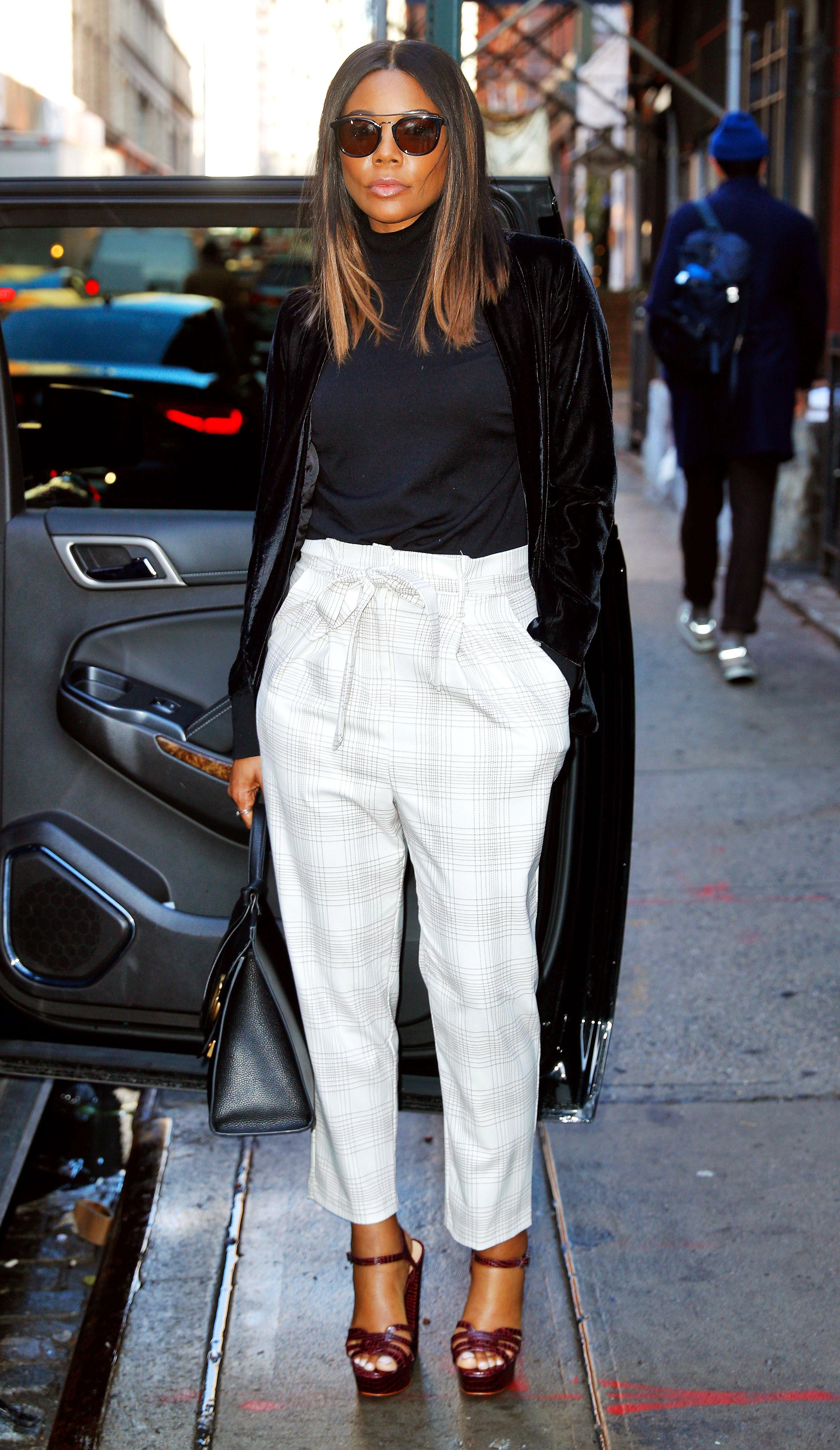 Jennifer Lopez More Wear Paper Bag Pants Street Style Pics