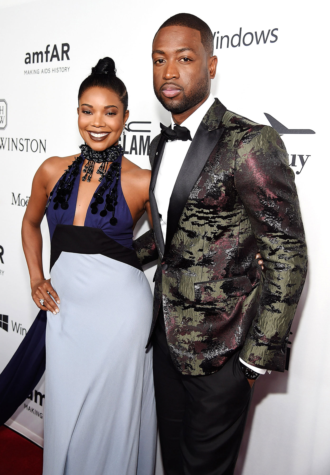 Gabrielle Union and Dwyane Wade Look Smoking Hot on the ...