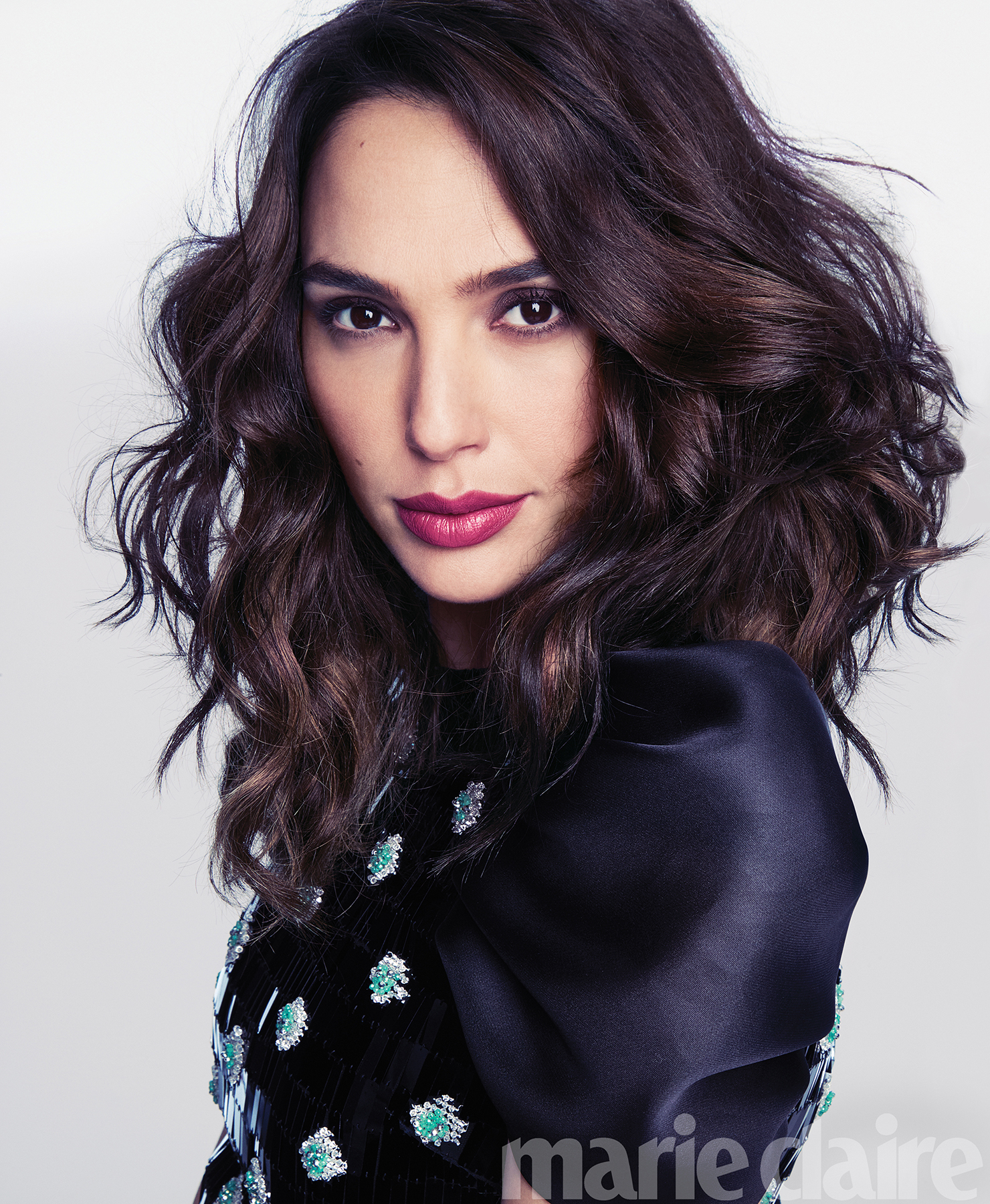 Wonder Woman Gal Gadot Covers Marie Claire, Vows To Fight For Good-7123