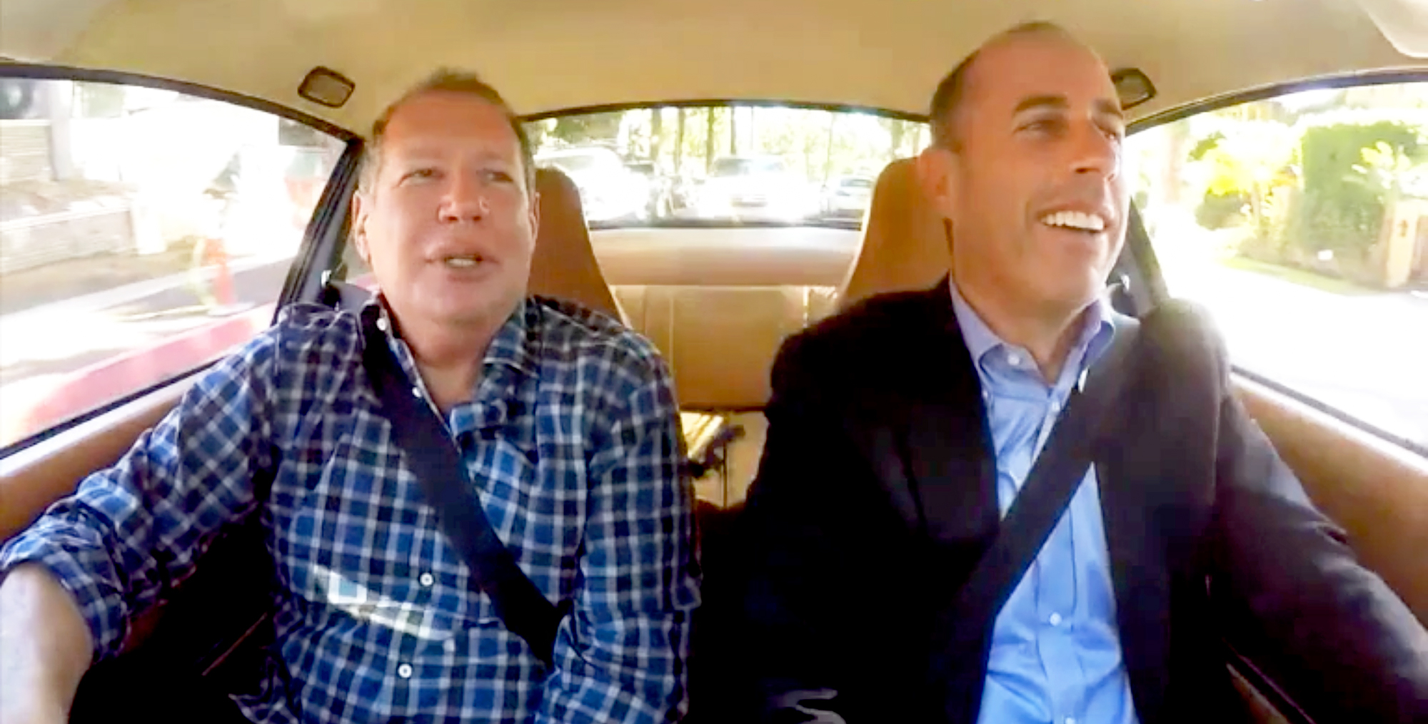 Garry Shandling and Jerry Seinfeld