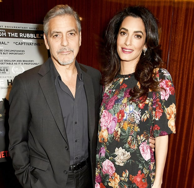 George and Amal Clooney expecting twins