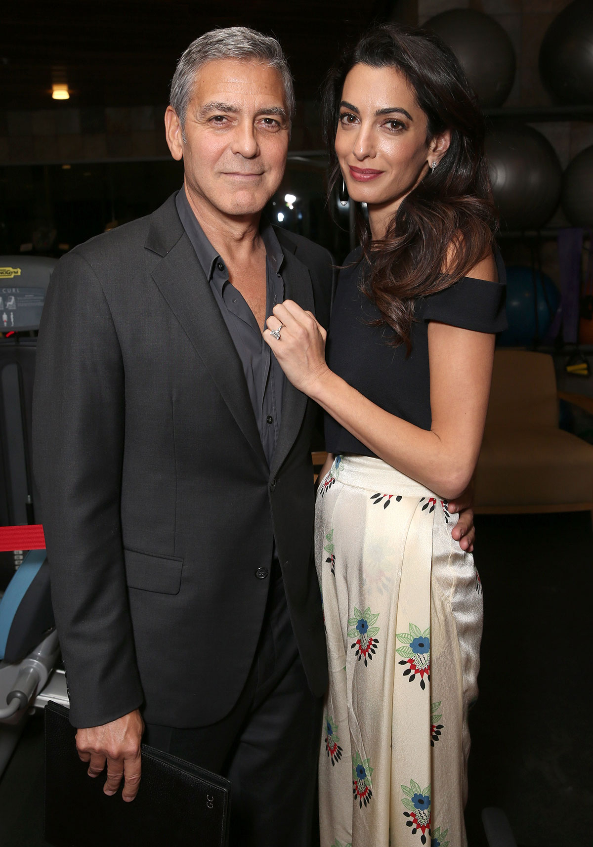 George Clooney and Amal recently revealed they are expecting twins