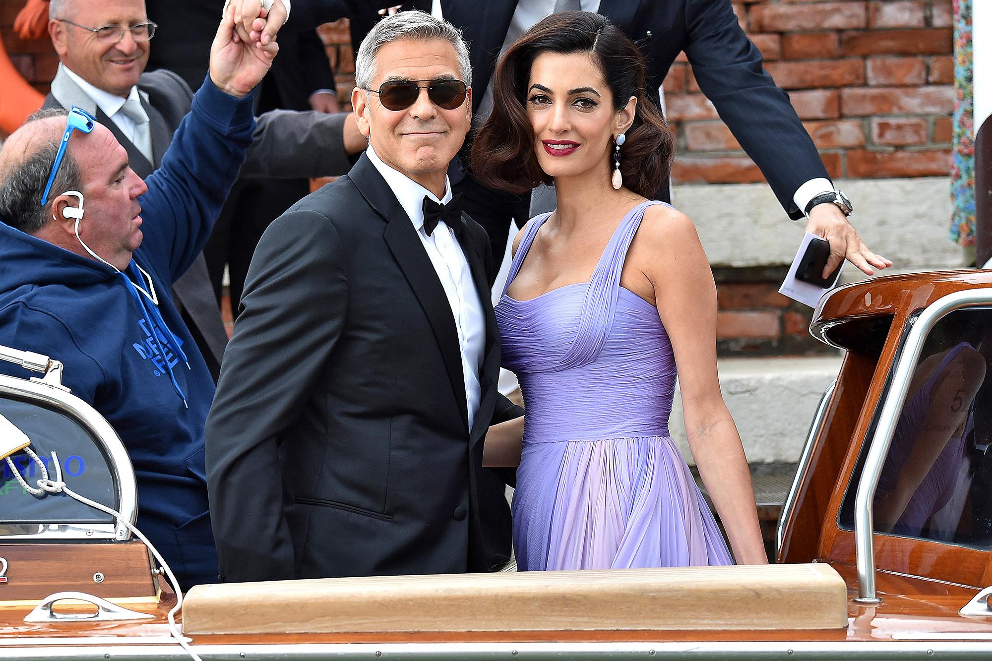 George Clooney, Amal Clooney, Suburbicon, Venice Film Festival Sala Grande, Italy