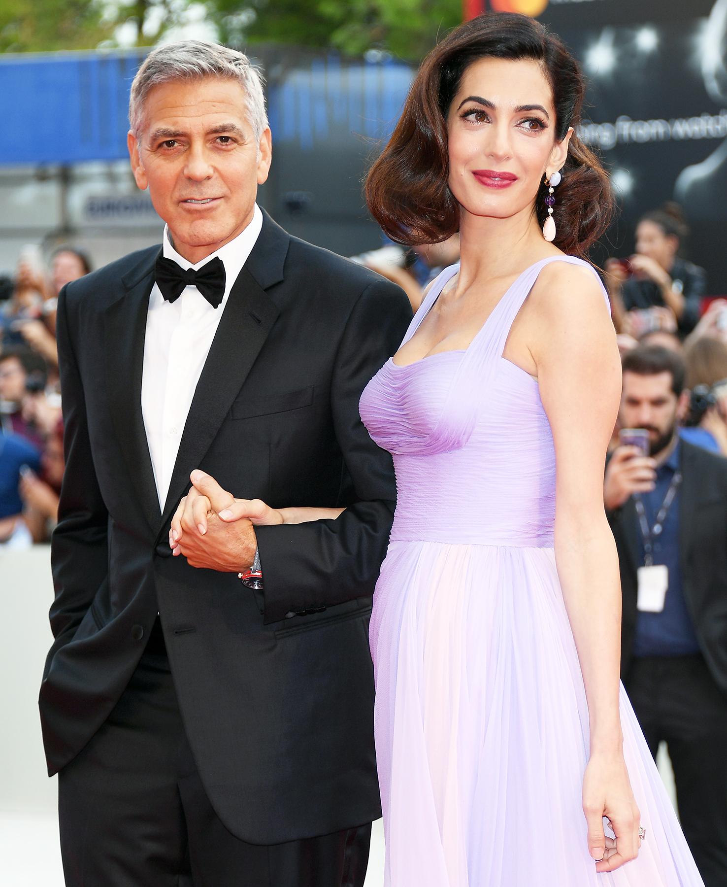 Картинки по запросу George Clooney Amal