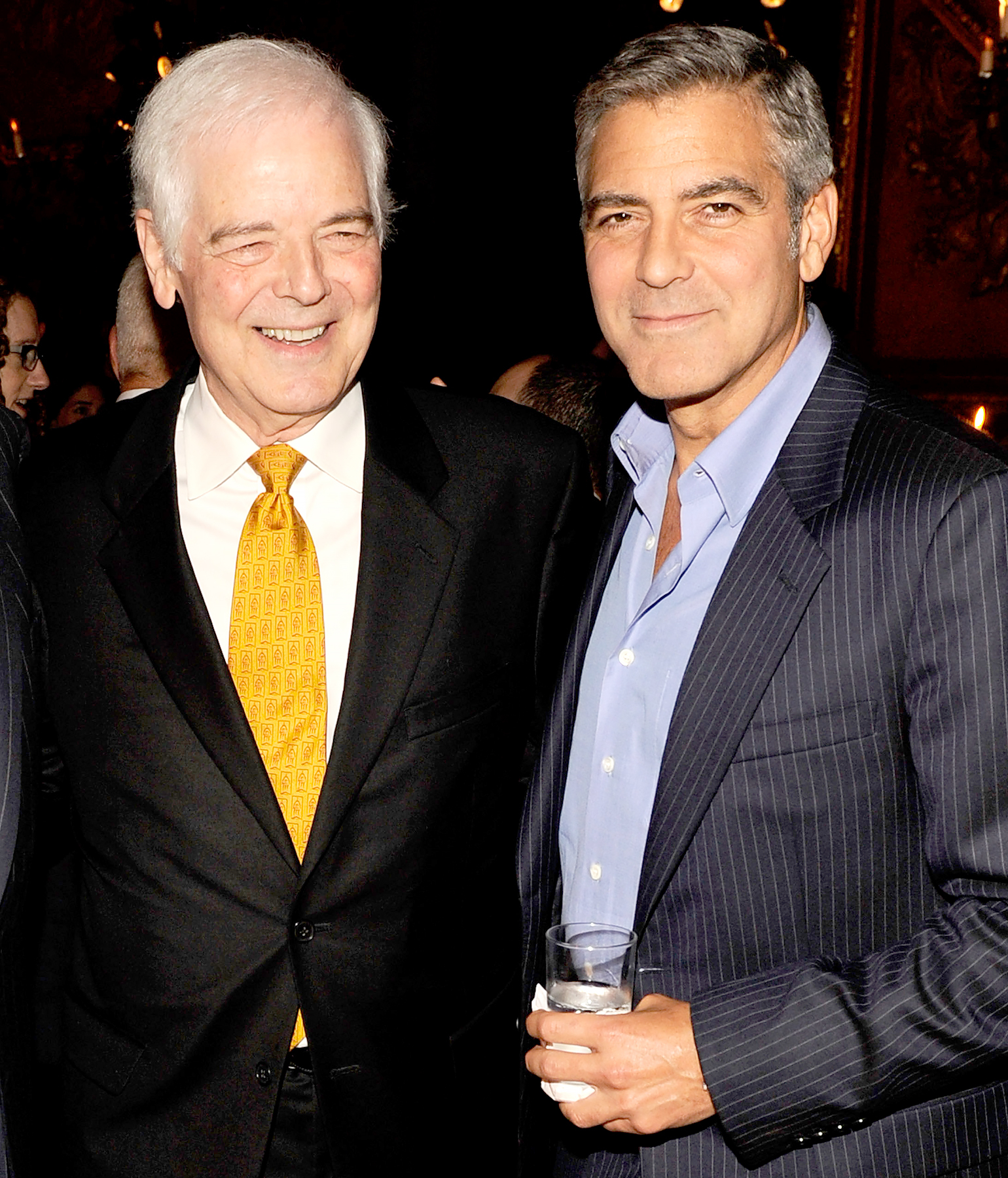 Photo of George Clooney  & his  Father  Nick Clooney