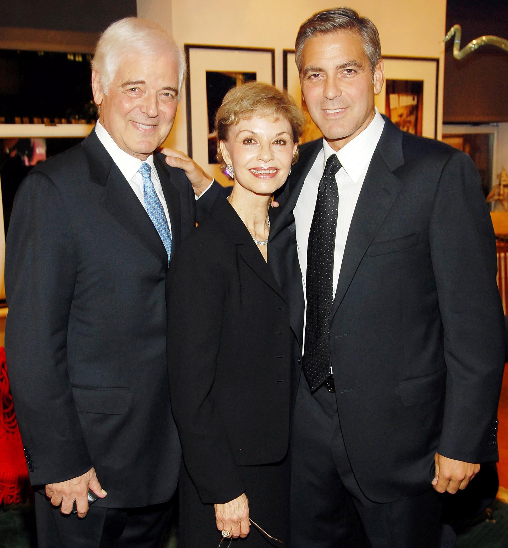 George Clooney parents