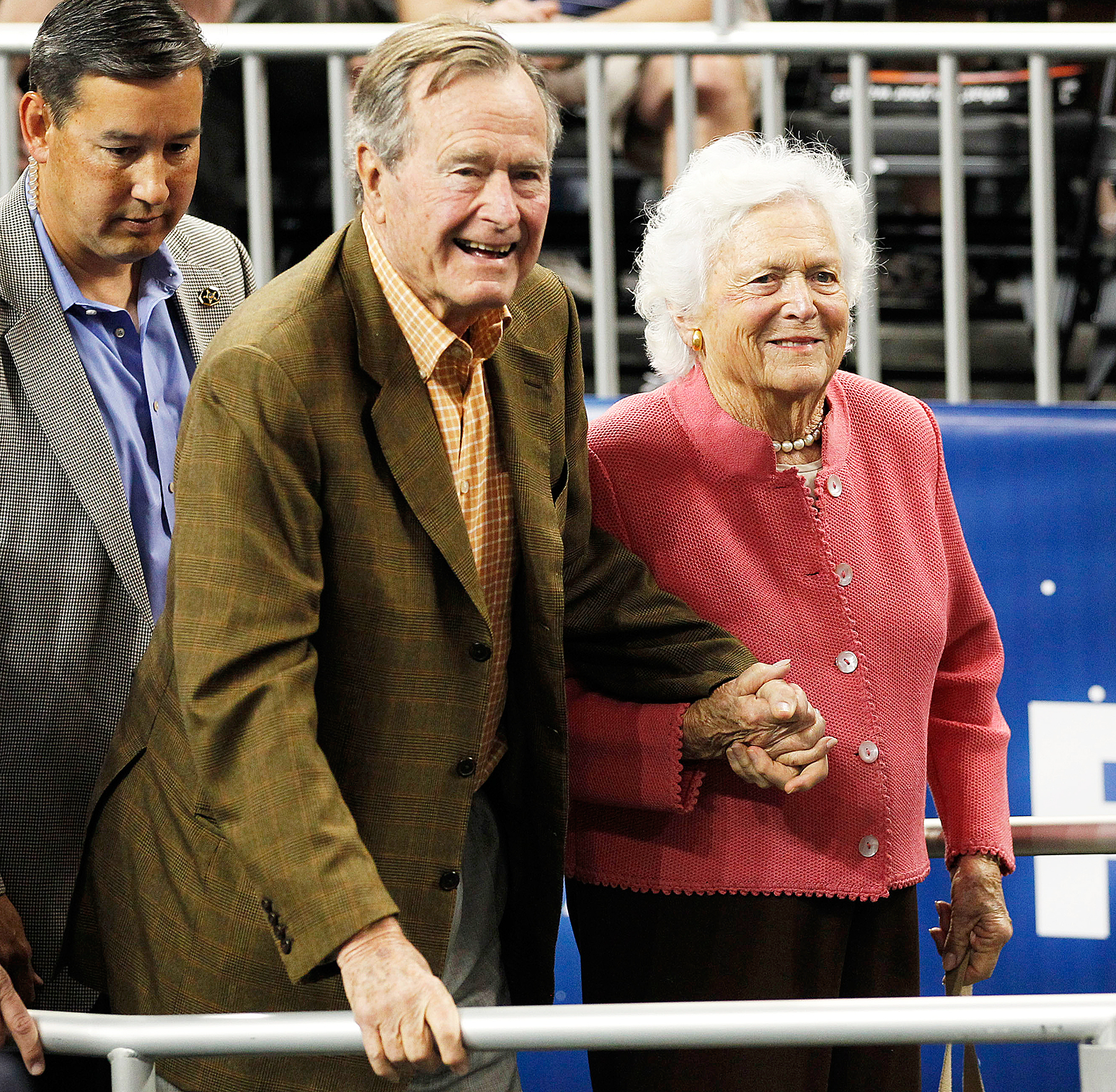 George H.W. Bush Barbara Bush