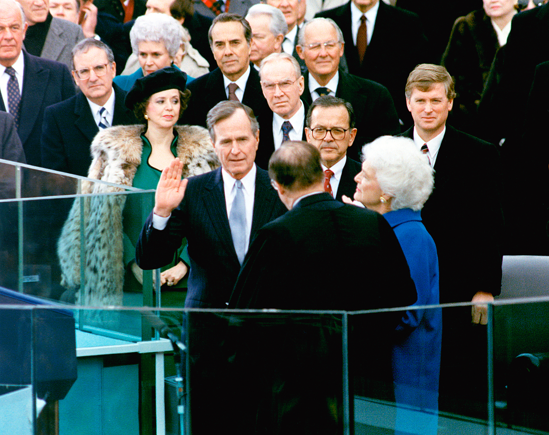 George H.W. Bush presidential inauguration