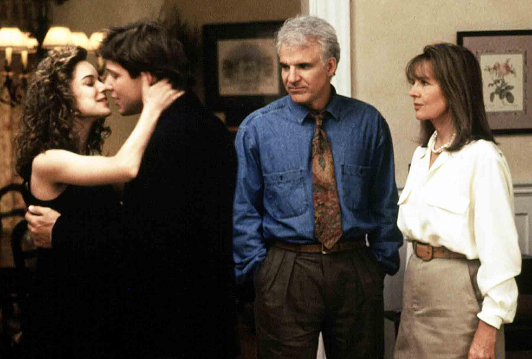 Kimberly Williams, George Newbern, Steve Martin, Diane Keaton Father of the Bride
