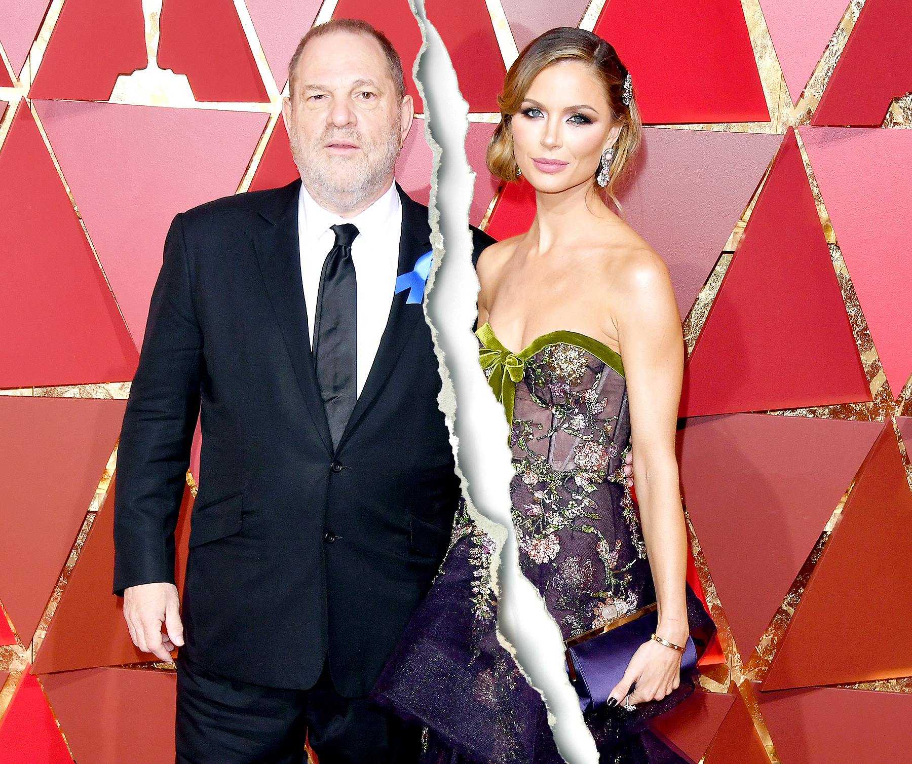 Harvey Weinstein and Georgina Chapman attend the 89th Annual Academy Awards at Hollywood & Highland Center on February 26, 2017 in Hollywood, California.