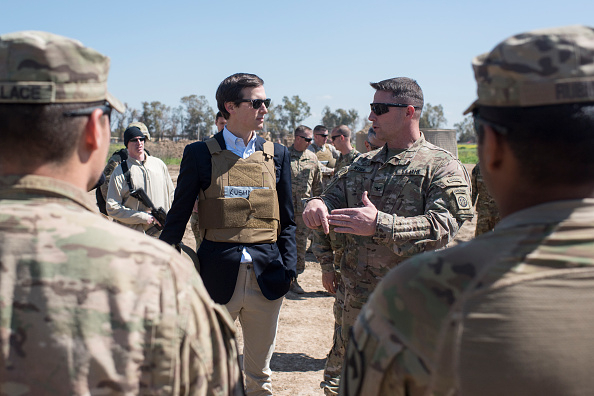 Jared Kushner Mocked for Wearing a Flak Jacket Over Blazer