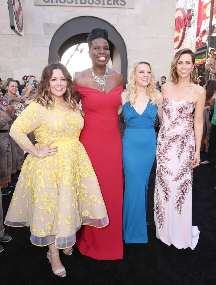 Ghostbusters, Leslie Jones, Melissa McCarthy, Kristen Wiig, Kate McKinnon