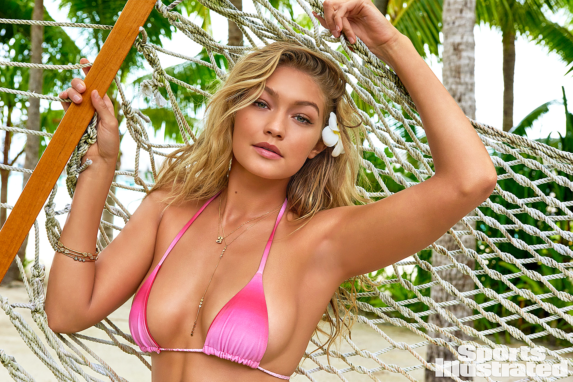 Gigi Hadid in the Sports Illustrated 2016 Swimsuit Issue