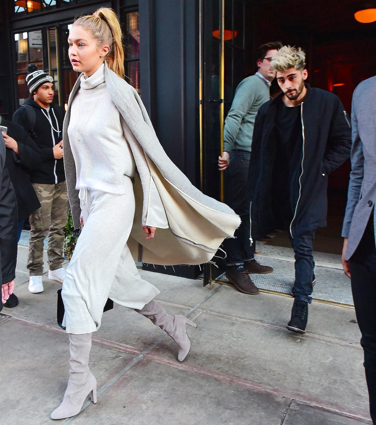 Gigi Hadid, Zayn Malik Go Apartment Hunting in NYC: Photos!