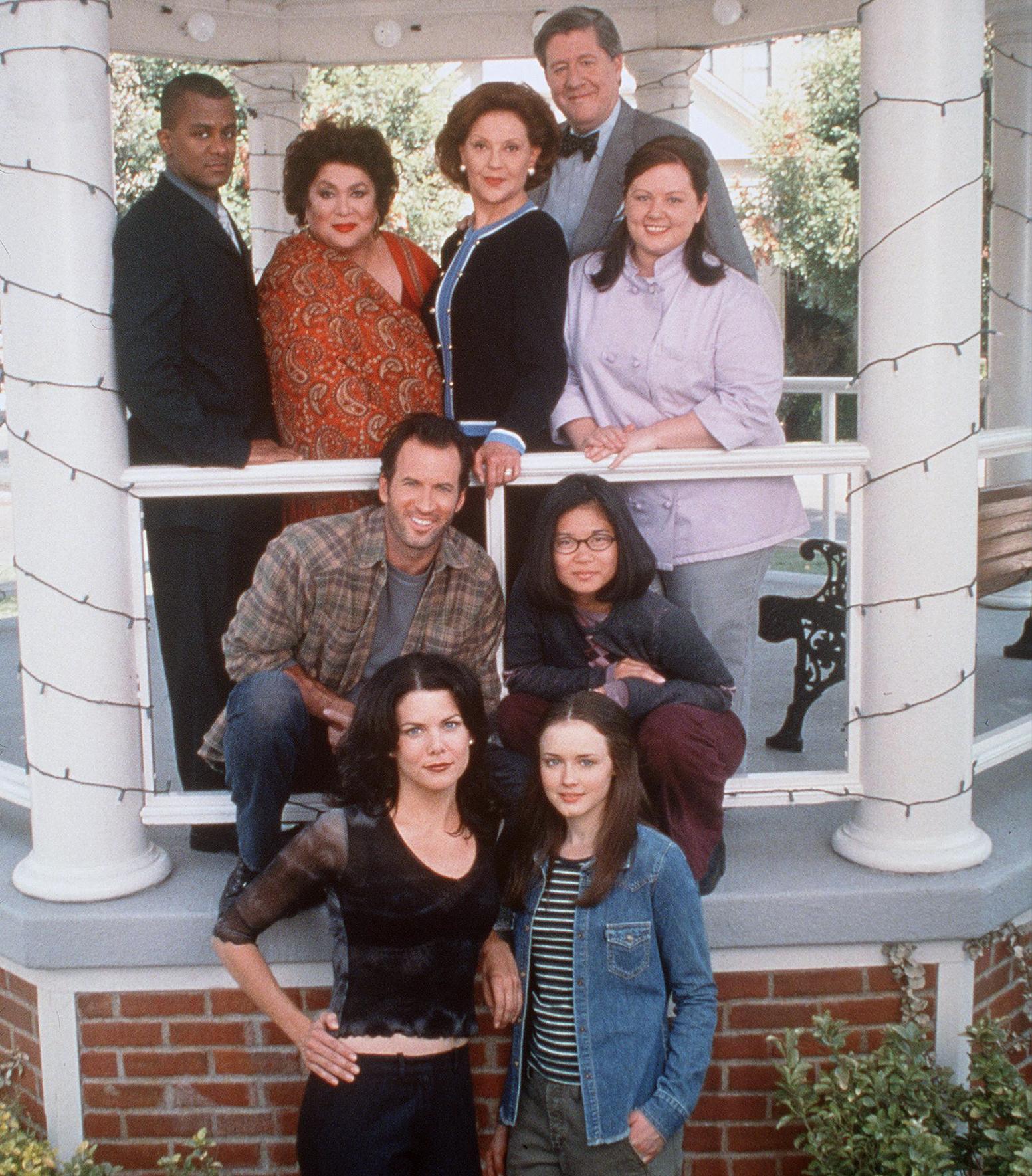 The original cast of Gilmore Girls.