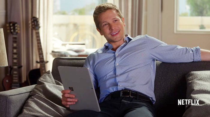 Matt Czuchry Gilmore Girls: A Day In The Life Logan
