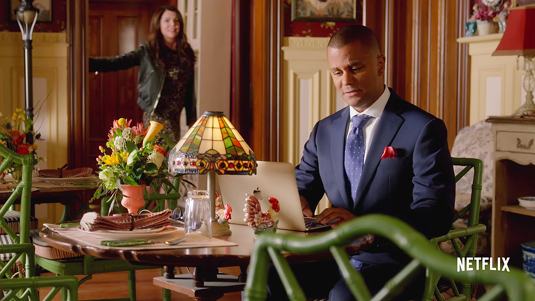 Yanic Truesdale Gilmore Girls: A Day In The Life Michele