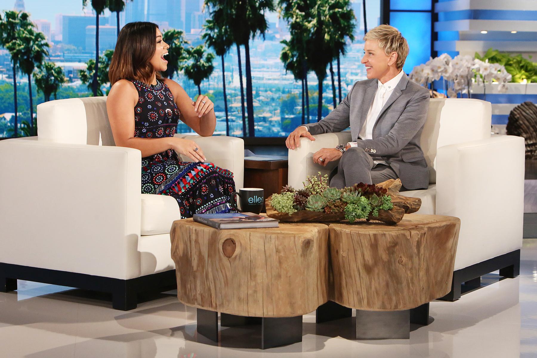 Gina Rodriguez The Ellen DeGeneres Show