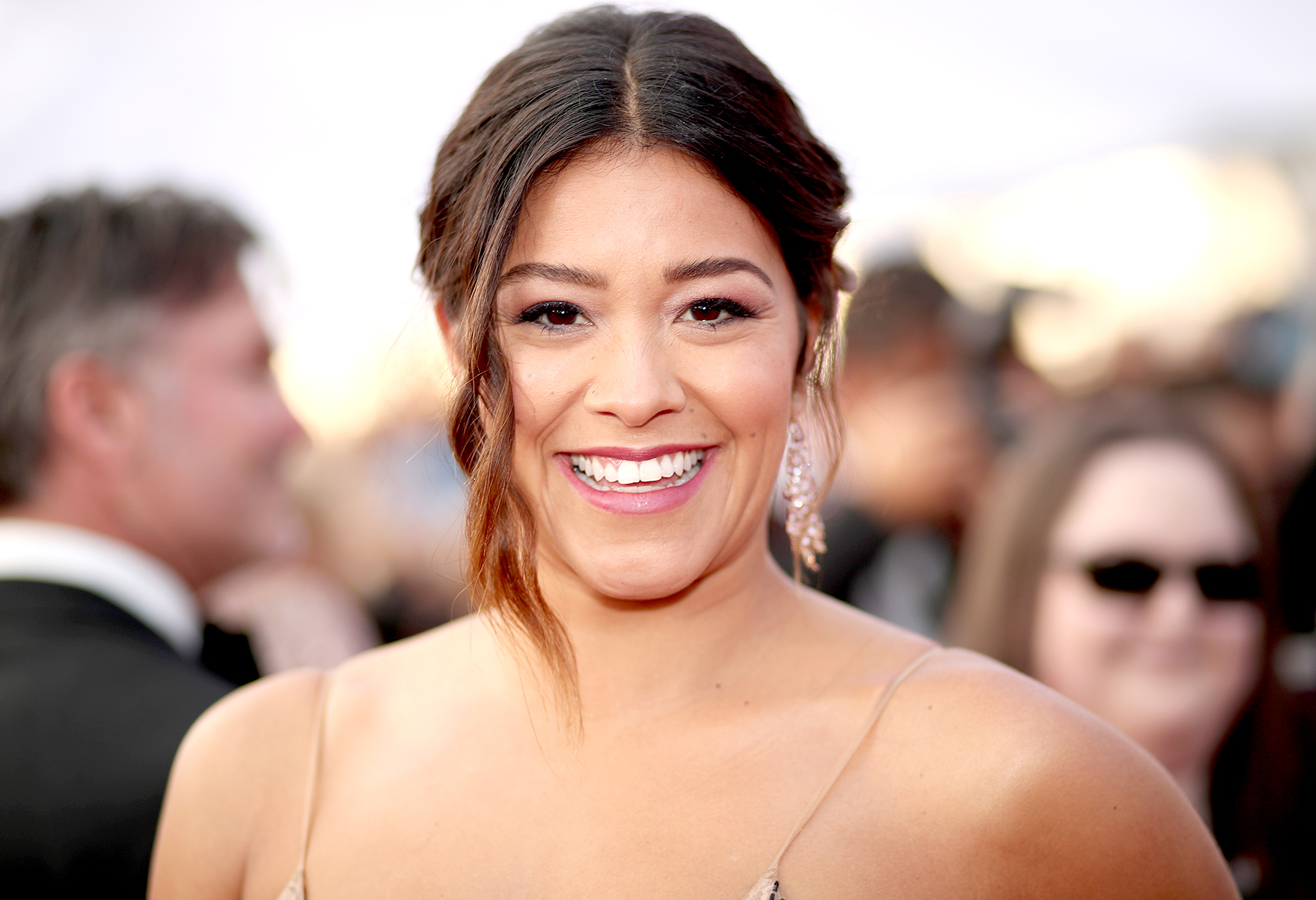 Gina Rodriguez attends The 23rd Annual Screen Actors Guild Awards at The Shrine Auditorium on January 29, 2017 in Los Angeles, California.