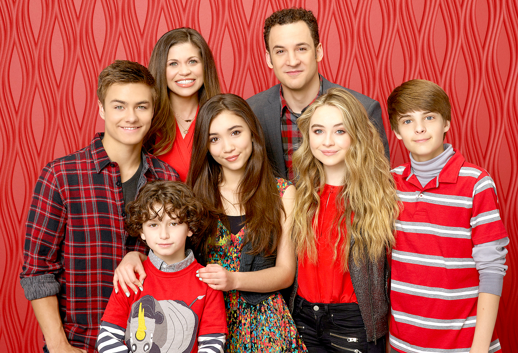 The cast of 'Girl Meets World.'