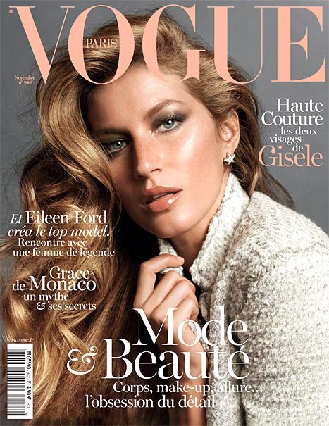 Gisele Vogue Paris