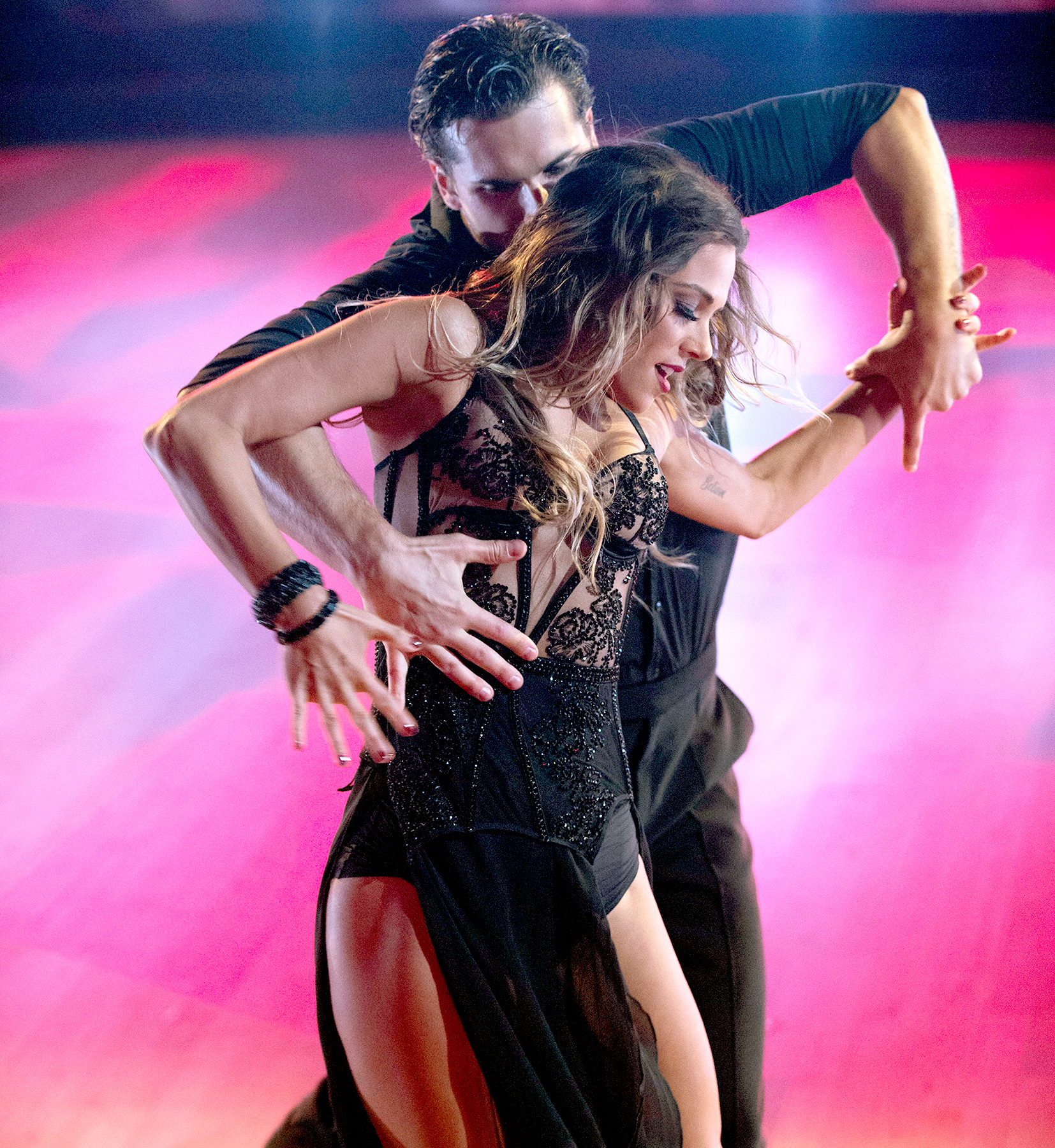 Gleb Savchenko and Jana Kramer on Dancing with the Stars.