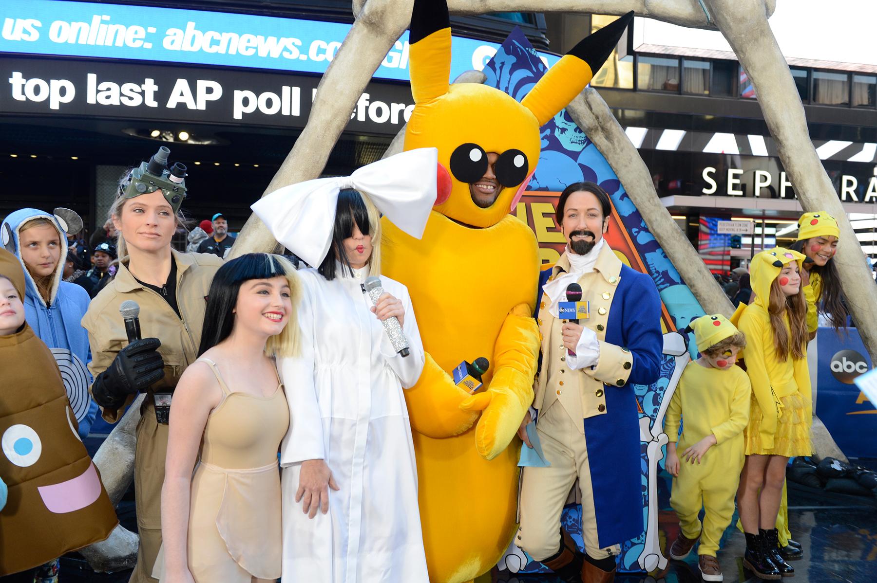 U0027Good Morning Americau0027 Halloween 2016: Pikachu, Madea, More