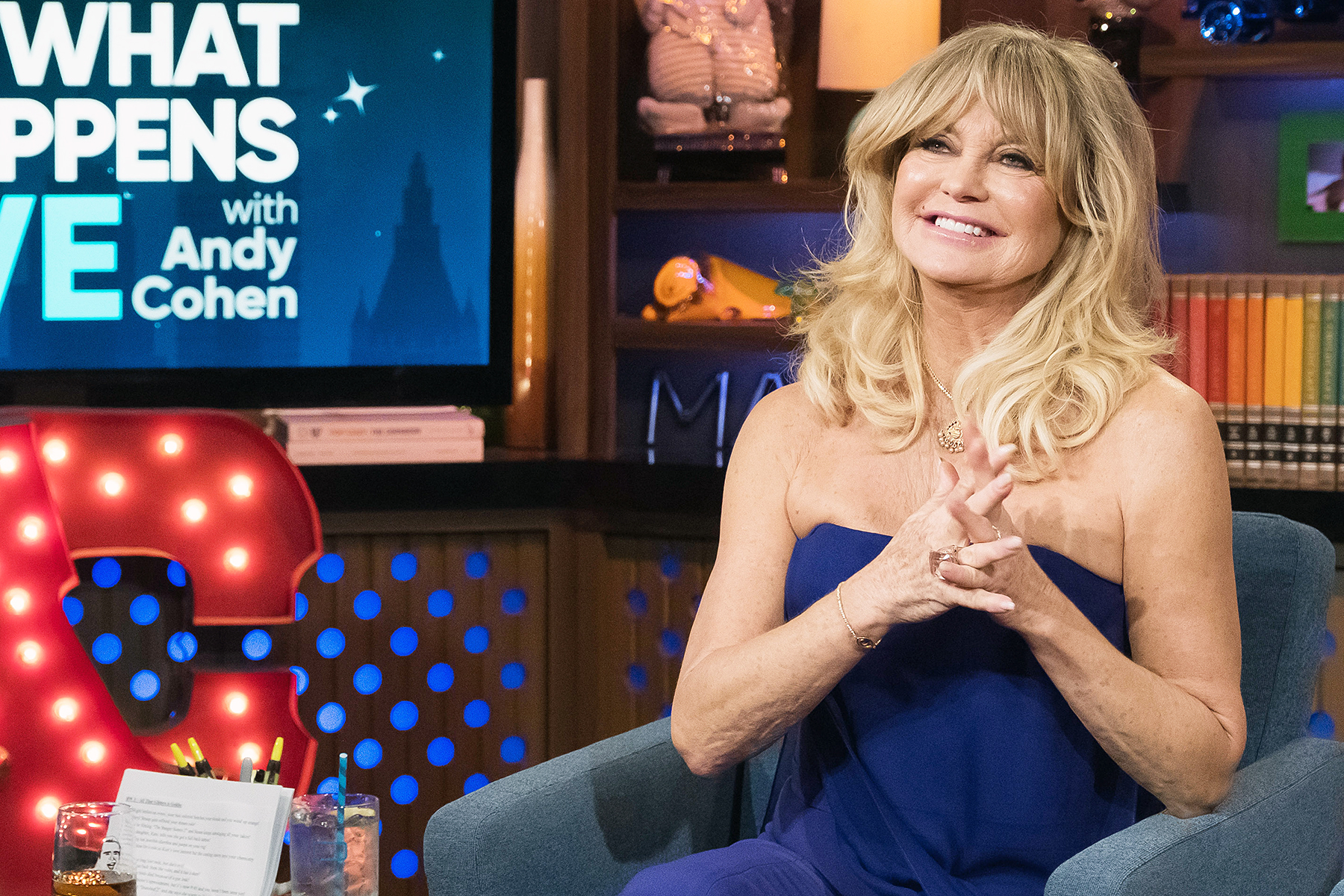 Goldie Hawn Watch What Happens Live WWHL