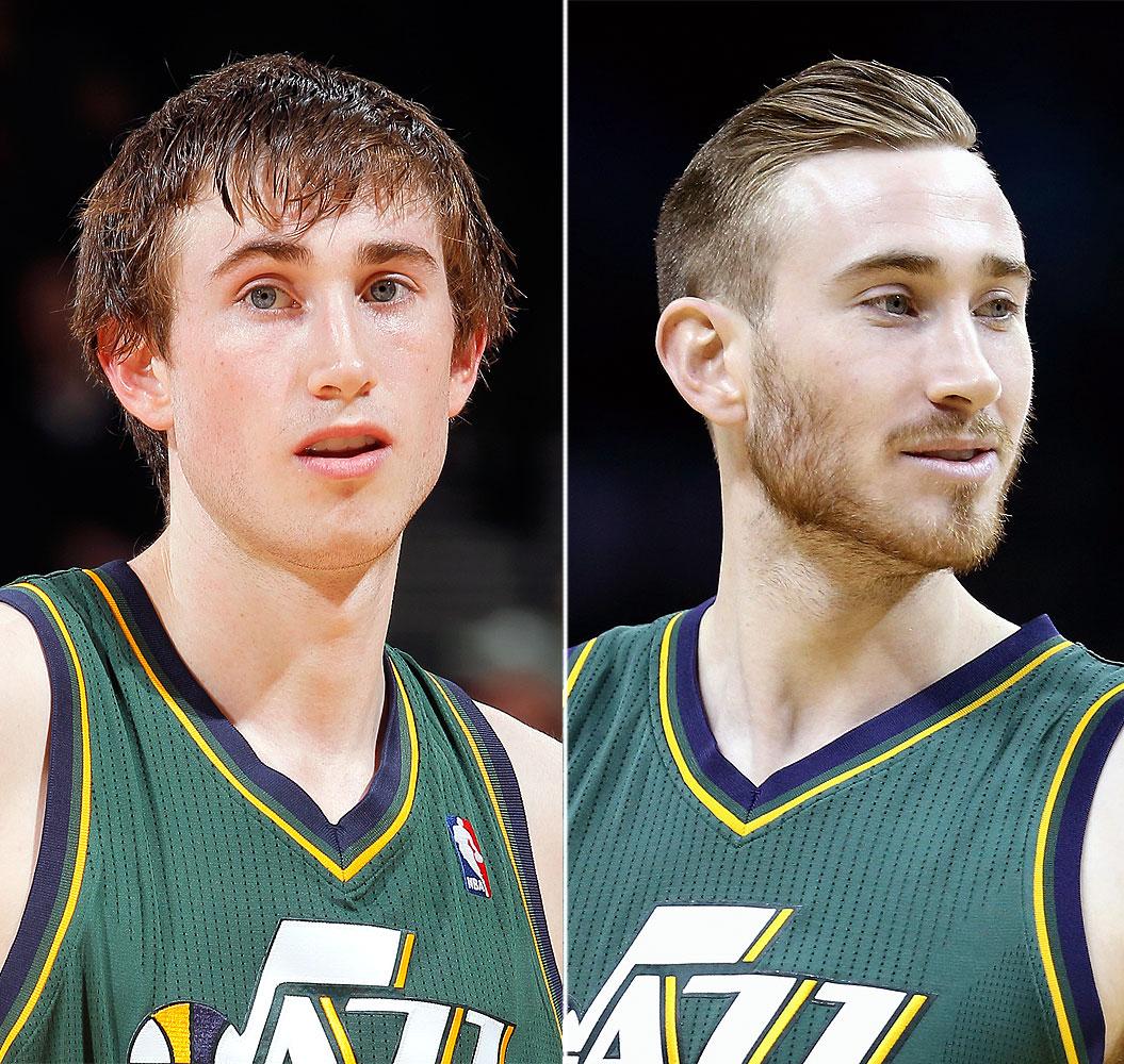 Utah Jazz Basketball Player Gets Haircut b2a358f20