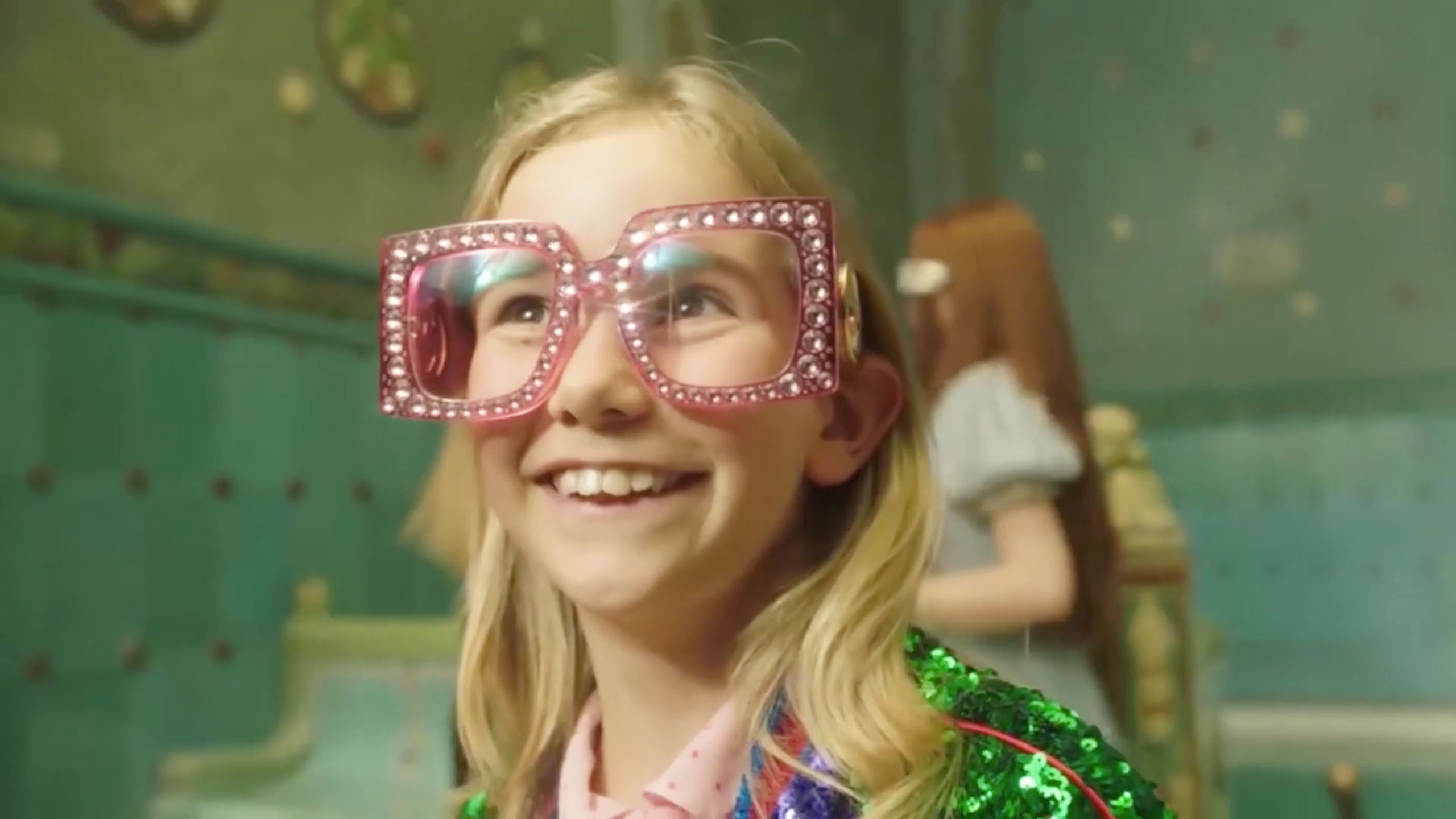 5190aaaed37 Gucci Showcases New Eyewear Collection in 70s-Inspired Video