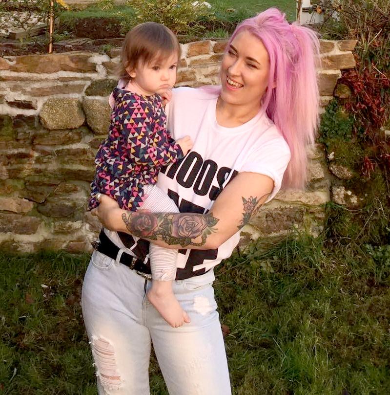 Gylisa Jayne and Lily