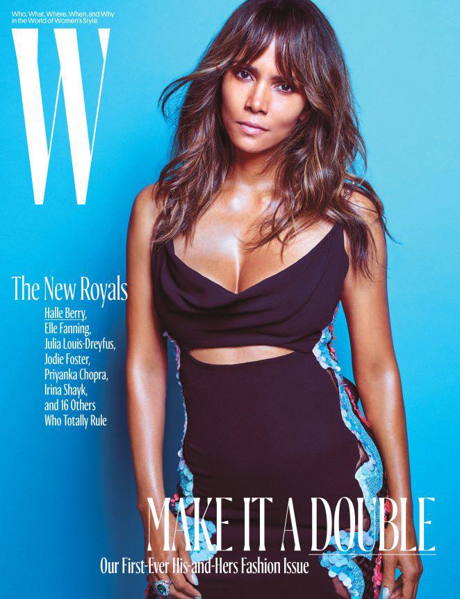 Halle Berry for W Magazine