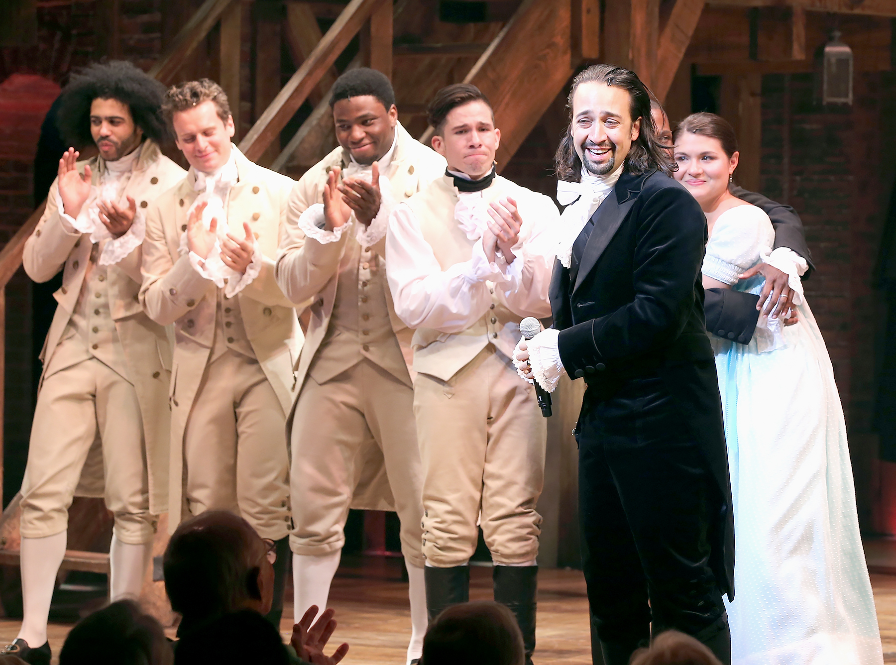 Lin-Manuel Miranda performs at