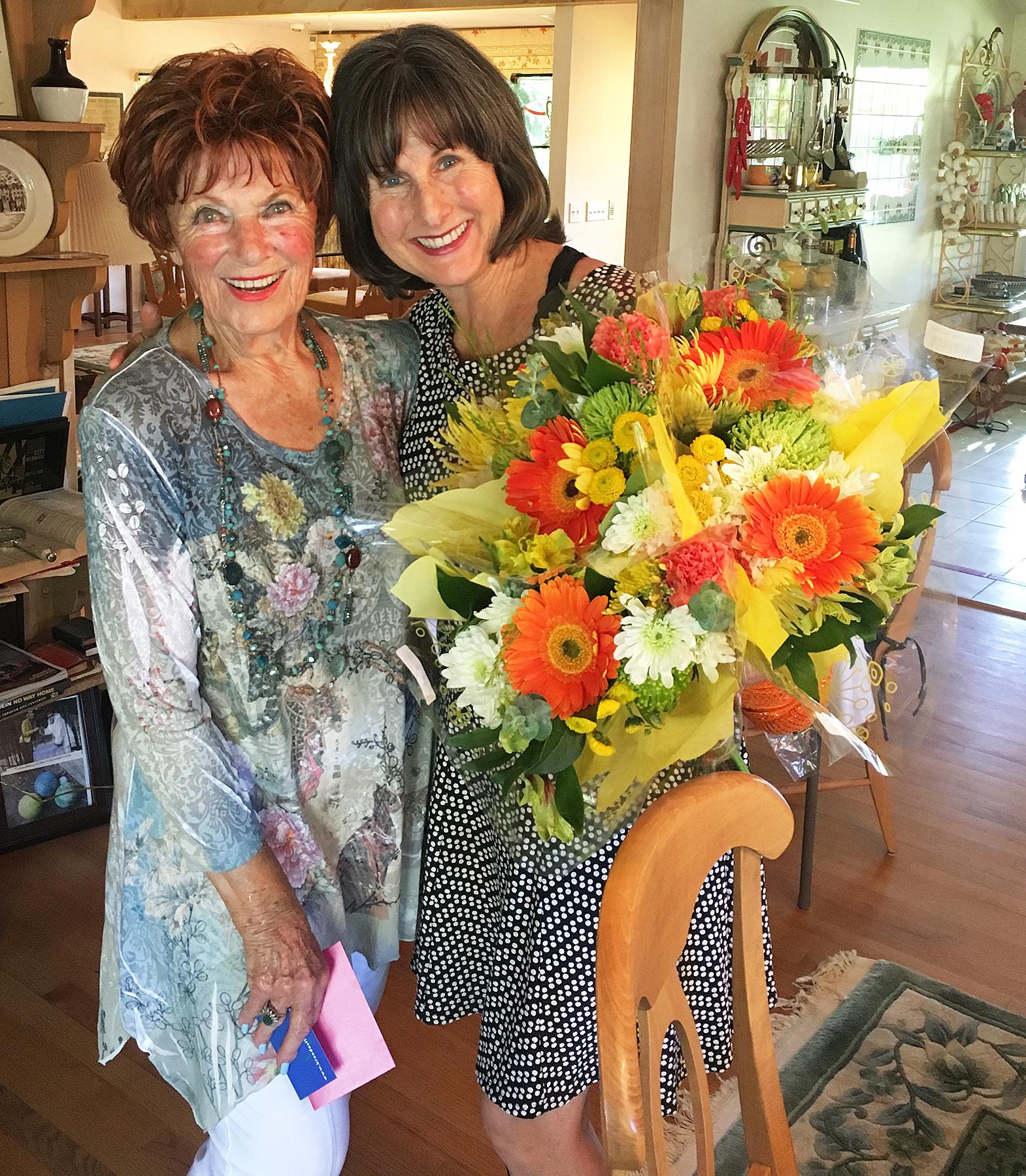Happy Days reunion Cathy Silvers Erin Moran