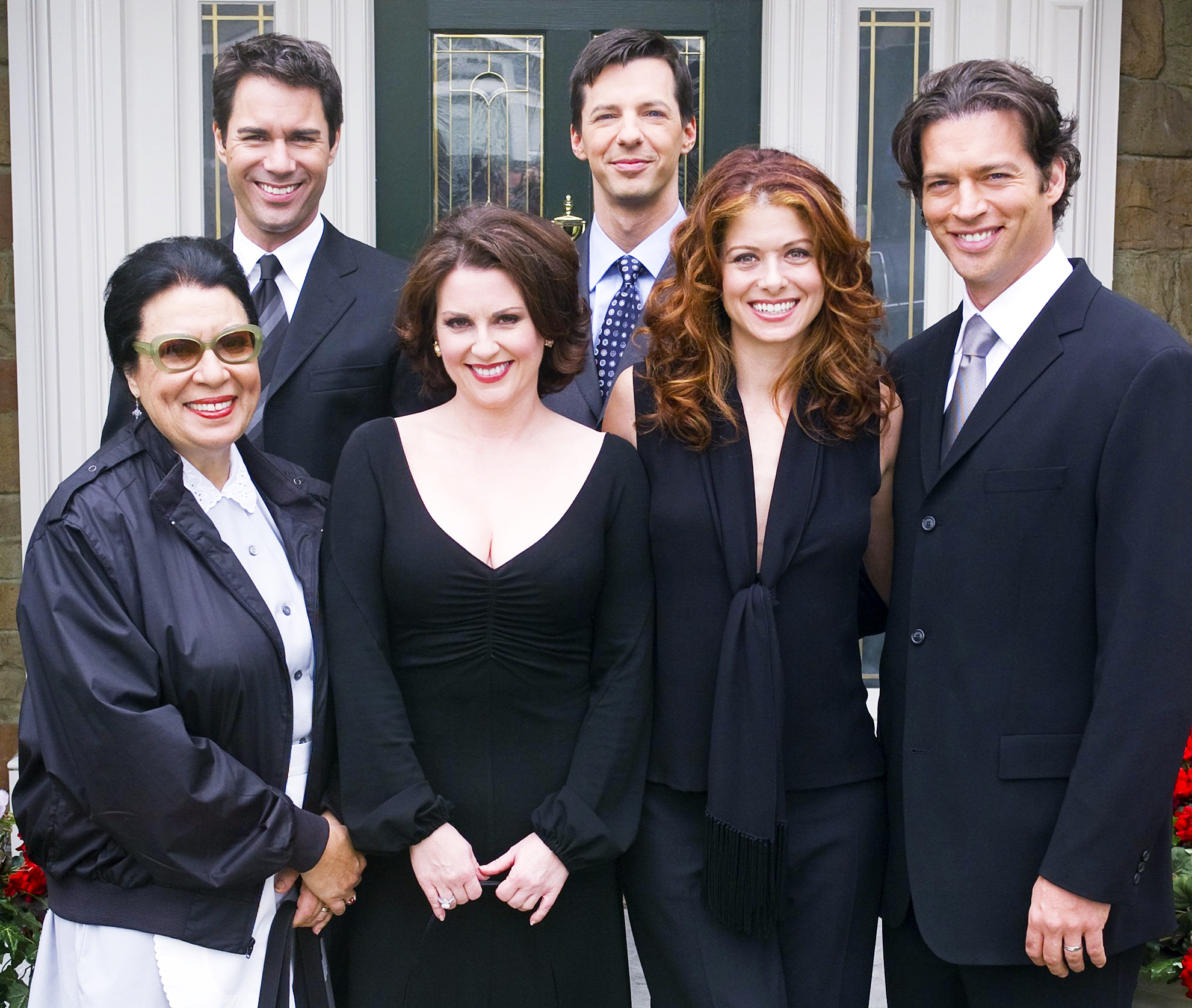 Will & Grace Shelley Morrison Eric McCormack Megan Mullally Sean Hayes Debra Messing Harry Connick Jr.