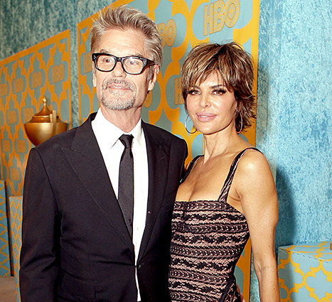 Lisa Rinna and Harry Hamlin - 2015