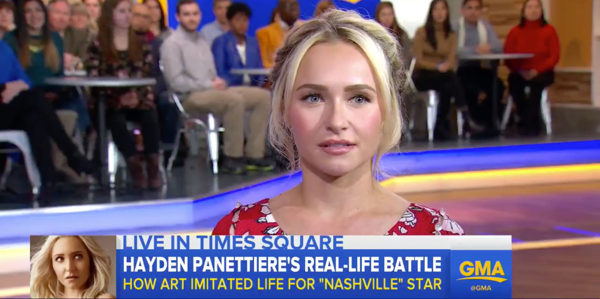 Hayden Panettiere on postpartum depression.