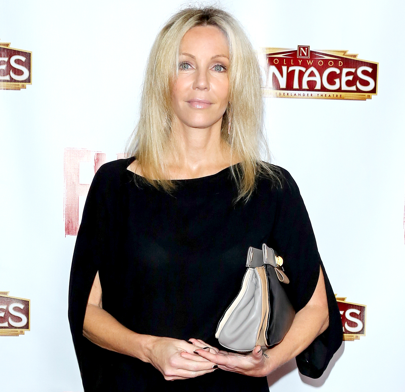 "Heather Locklear attends the opening night of ""Evita"" at the Pantages Theatre on October 24, 2013 in Hollywood, California."