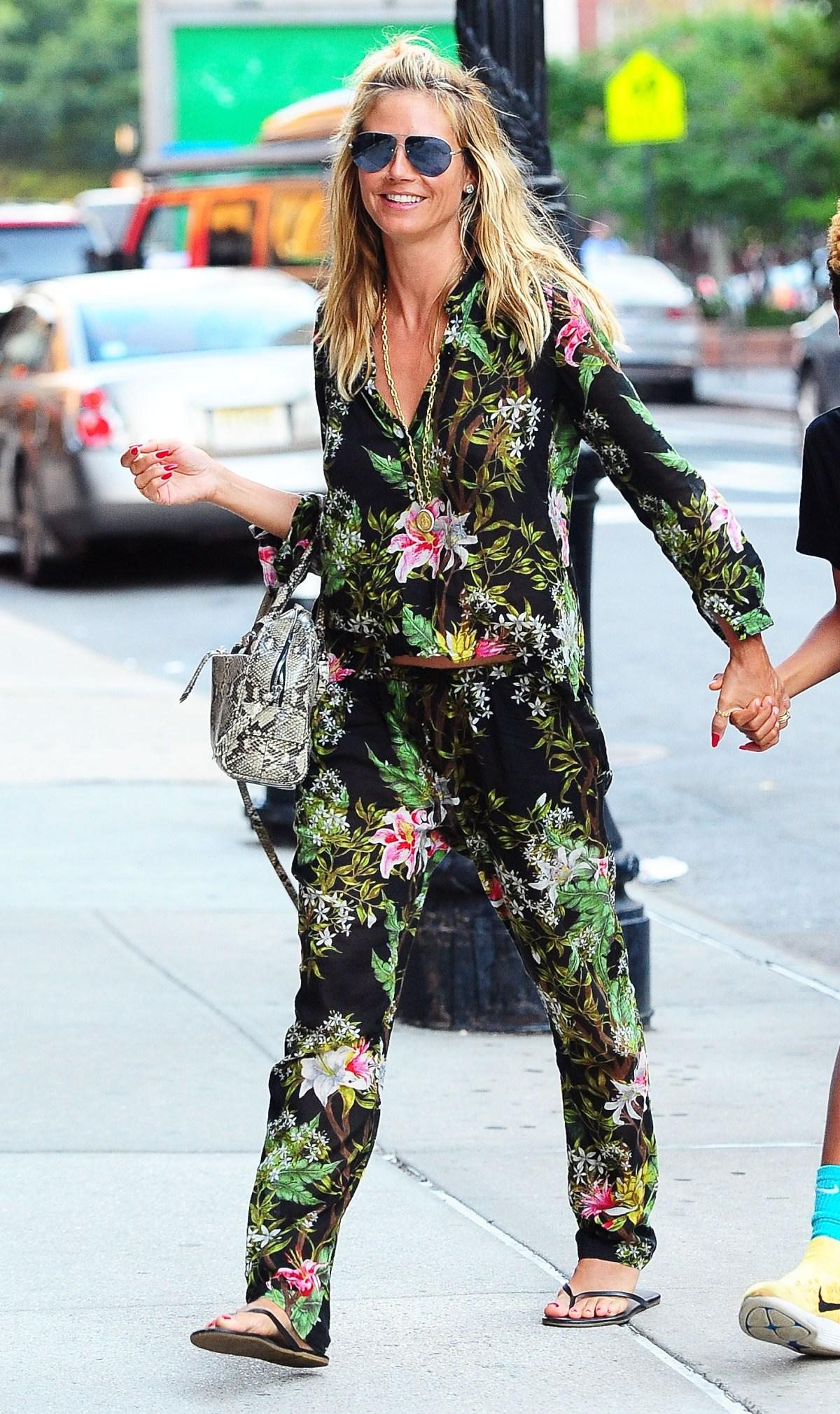 b26edd447efdf Celebrities Are Wearing Pajamas as Streetwear: Photos