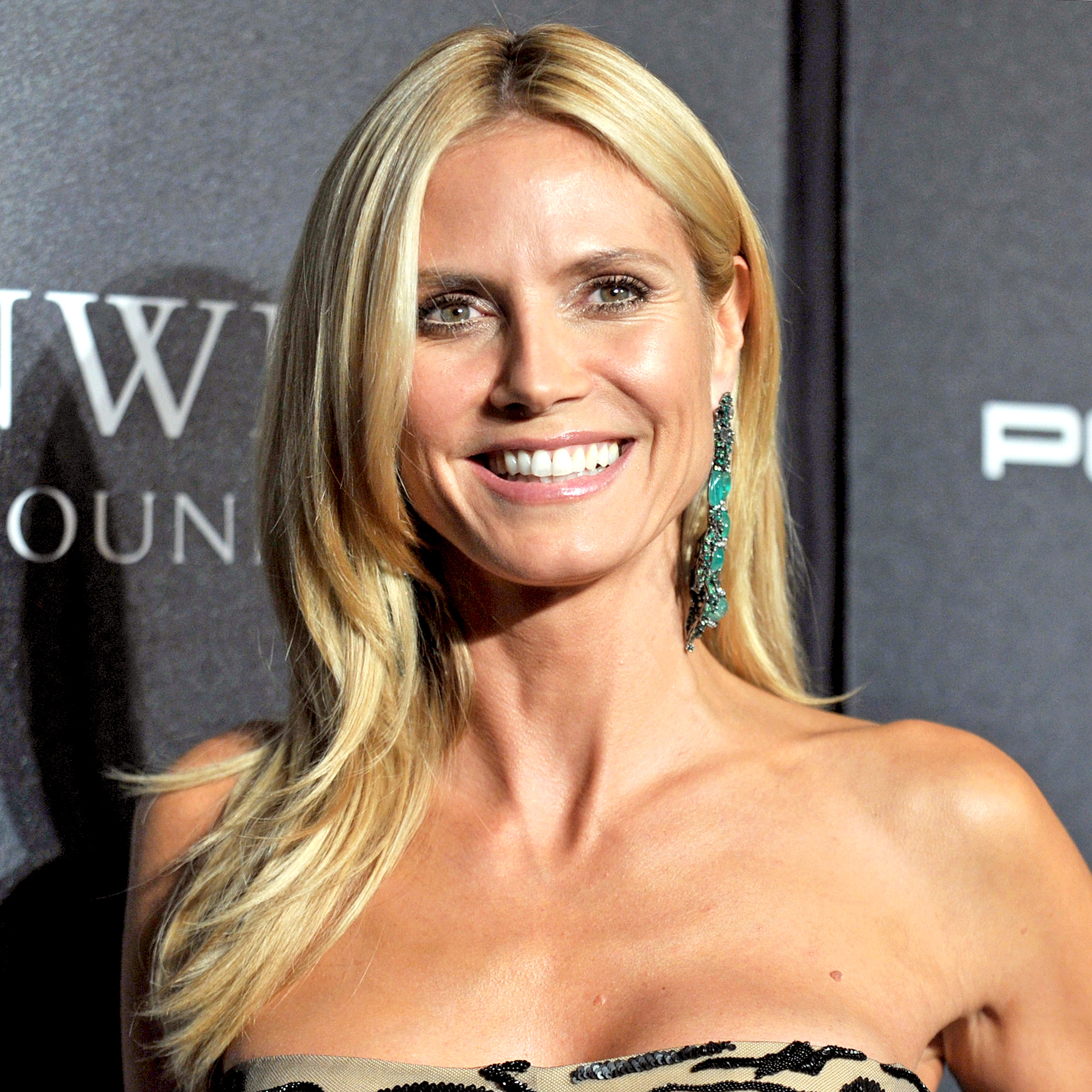 Heidi Klum attends the Angel Ball 2015 hosted by Gabrielle's Angel Foundation at Cipriani Wall Street on October 19, 2015 in New York City.