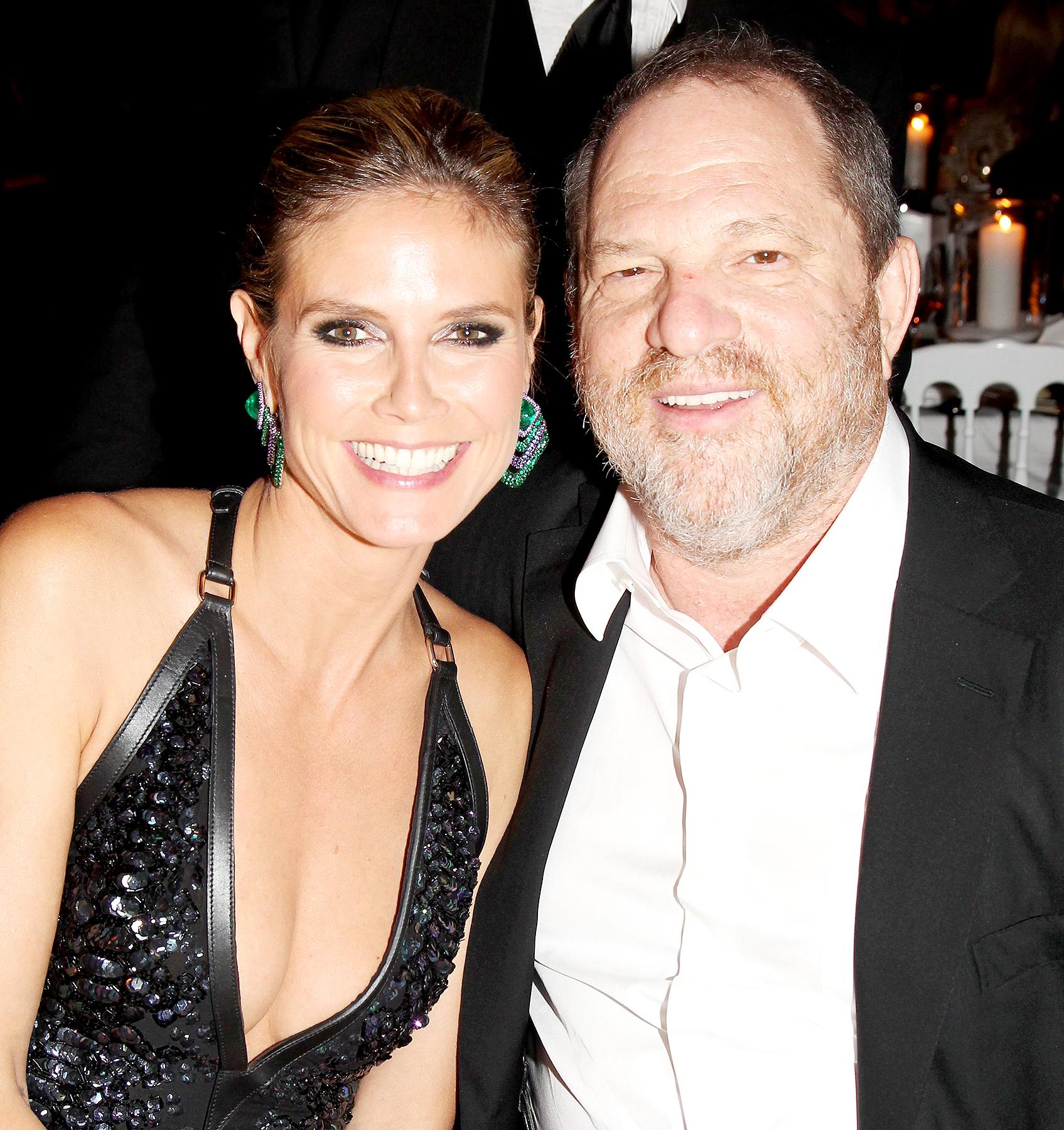 Heidi Klum and Harvey Weinstein attend de Grisogono Glam Extravaganza at Hotel Du Cap Eden-Roc in Cap D'Antibes, France, on May 23, 2012.