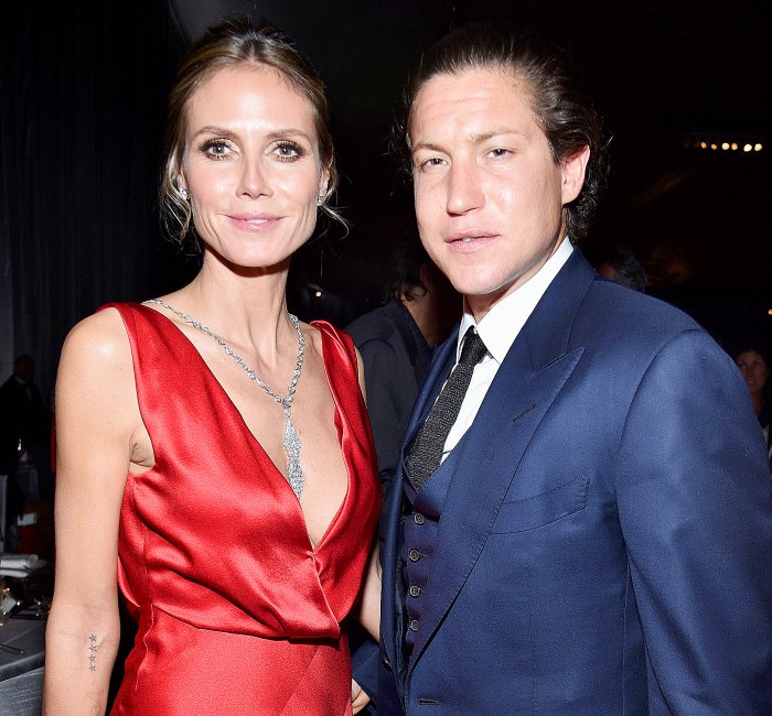 Heidi Klum and Vito Schnabel attend the 25th Annual Elton John AIDS Foundation's Academy Awards Viewing Party at The City of West Hollywood Park on February 26, 2017 in West Hollywood, California.