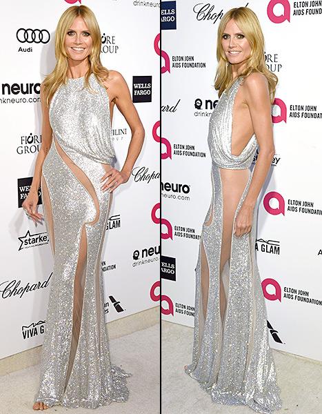 Heidi Klum - Elton John Oscar party