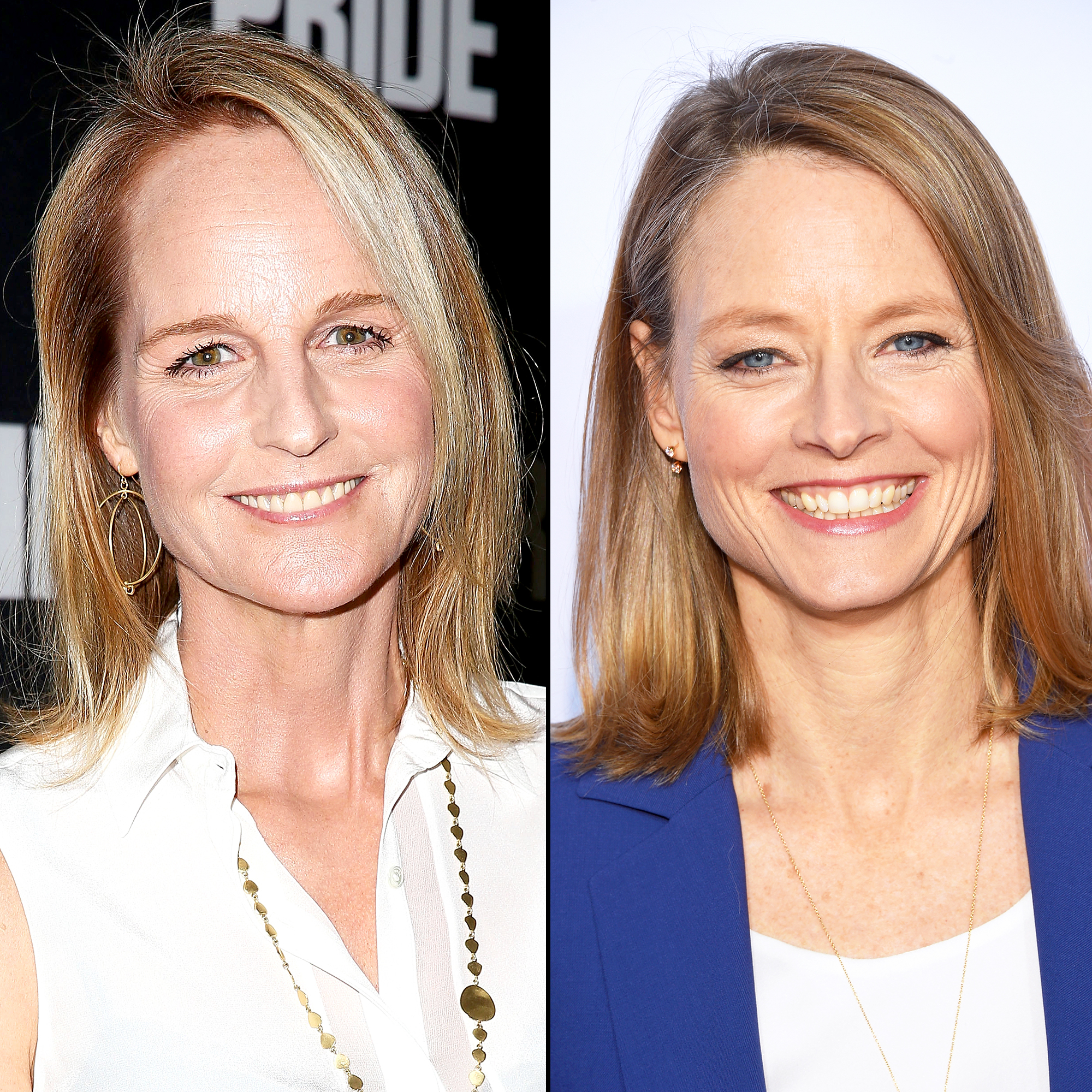 Helen Hunt (left) and Jodie Foster