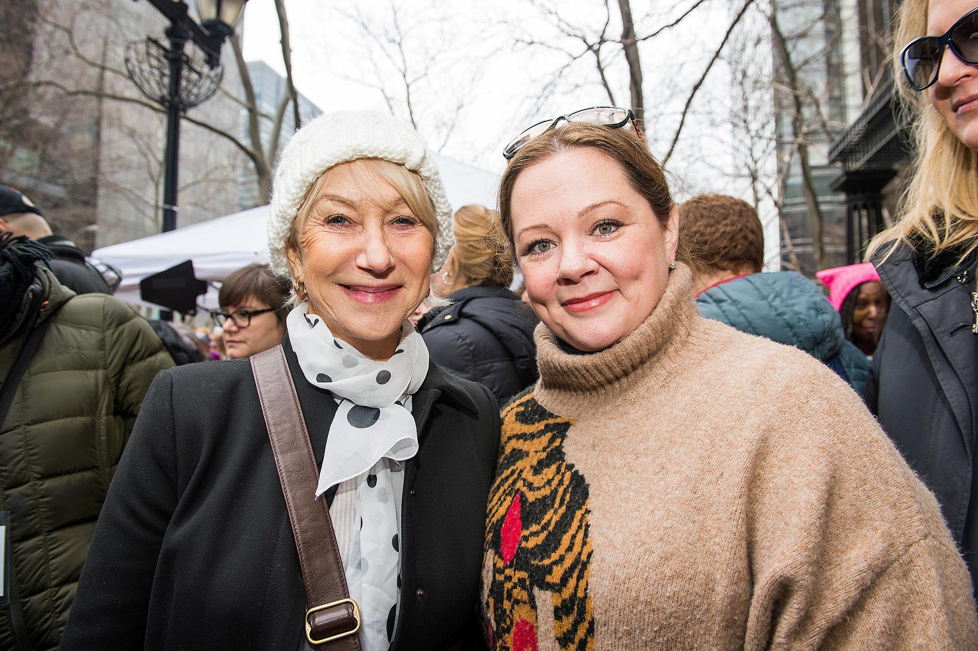 Helen Mirren, Melissa McCarthy