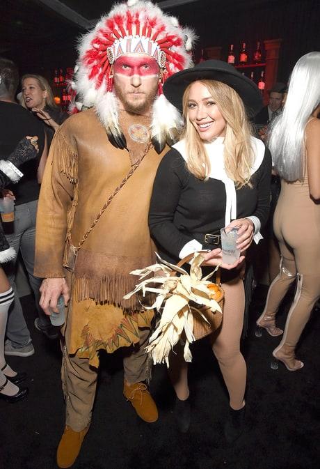 Jason Walsh and Hilary Duff