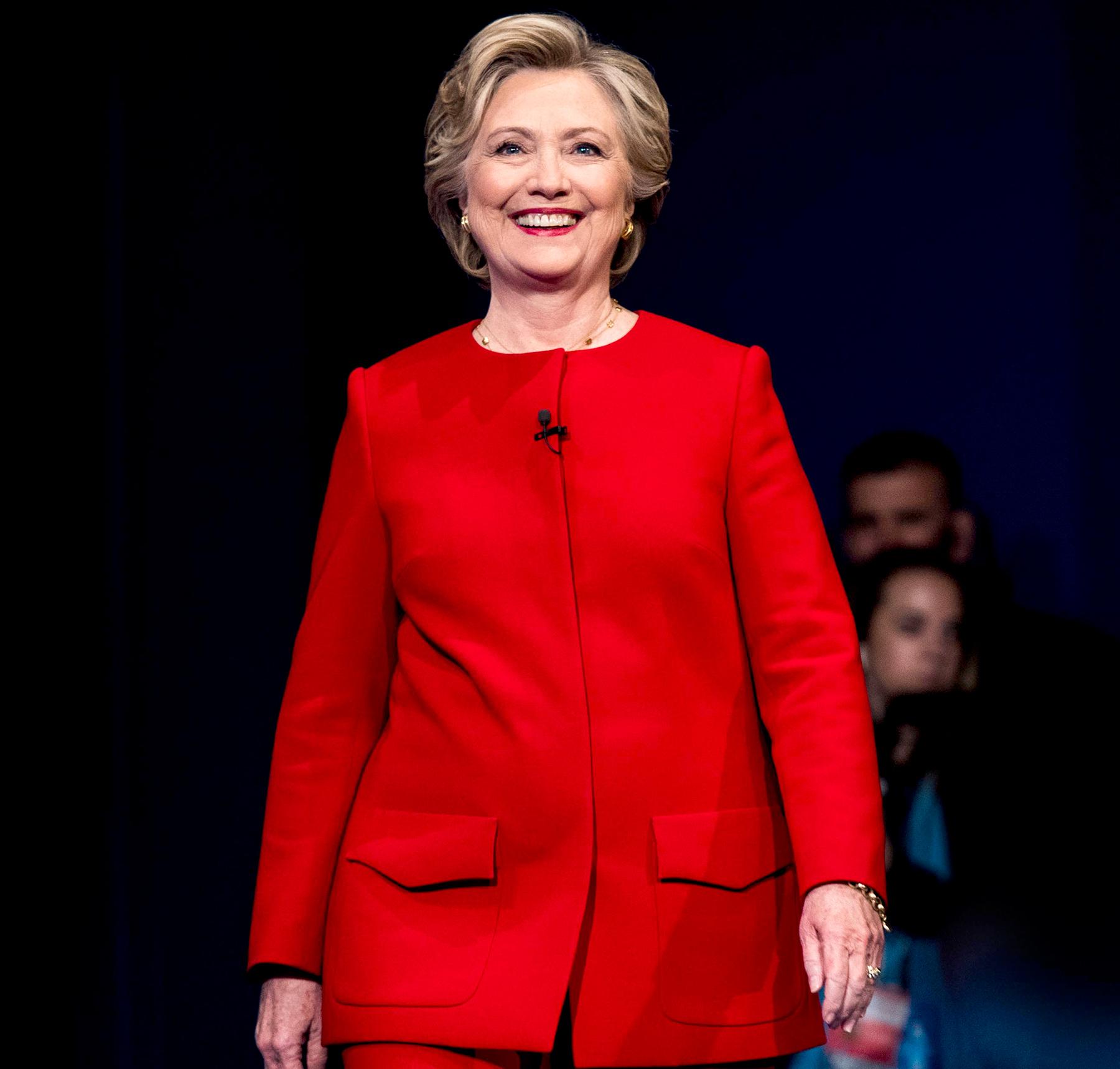 Hillary Clinton at Hofstra University in Hempstead, New York on Monday September 26, 2016.