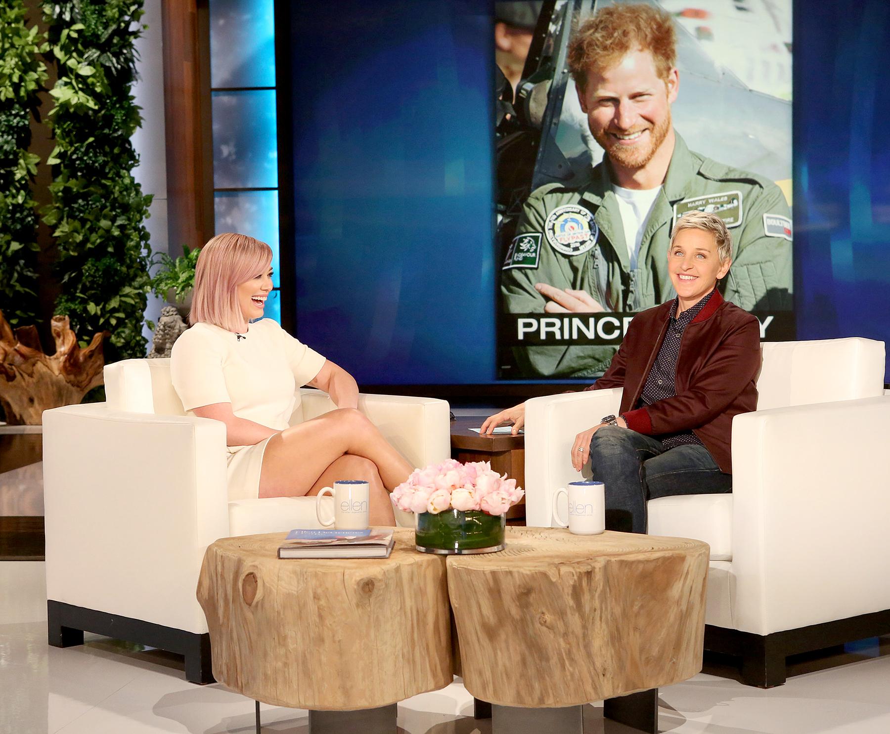 Hilary Duff on Elle DeGeneres